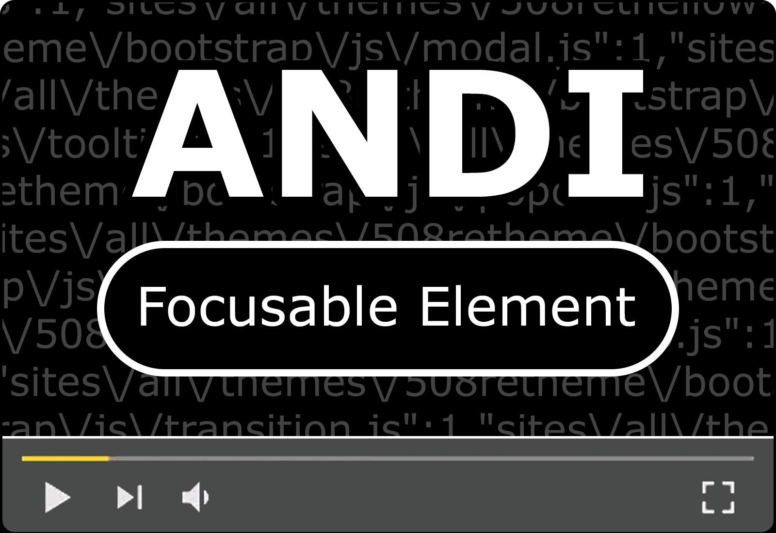 Module 2: Focus Element