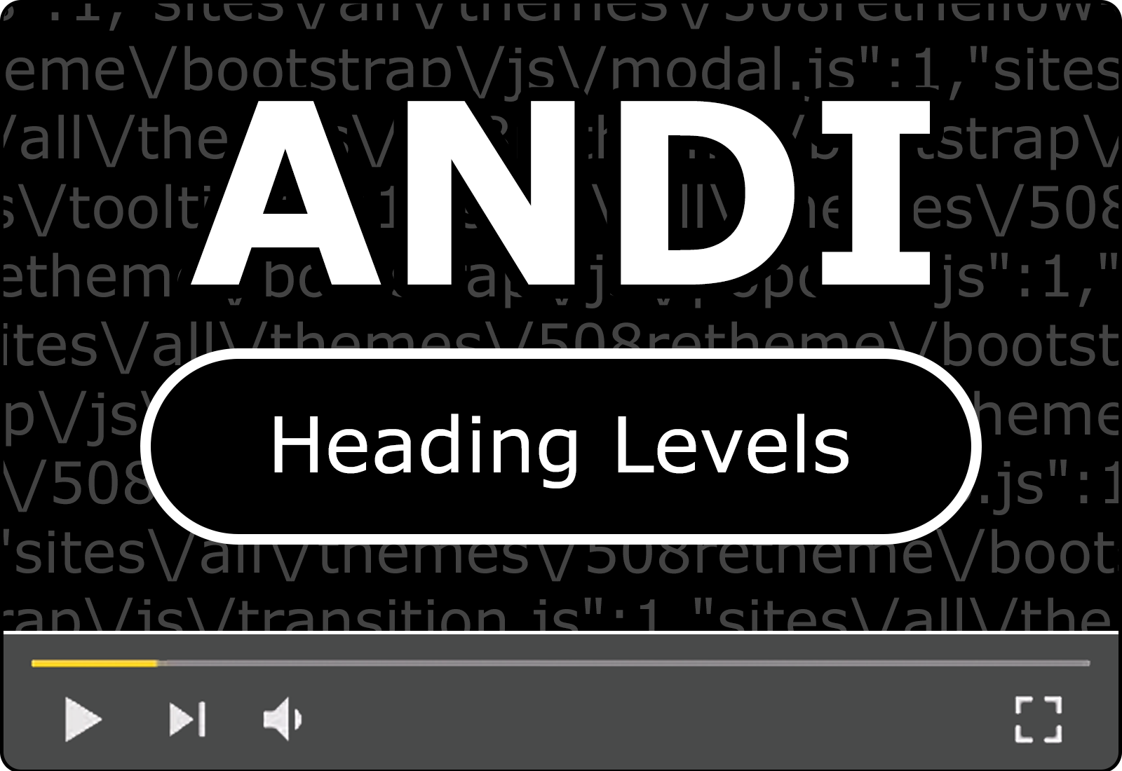 Module 6: Heading Levels