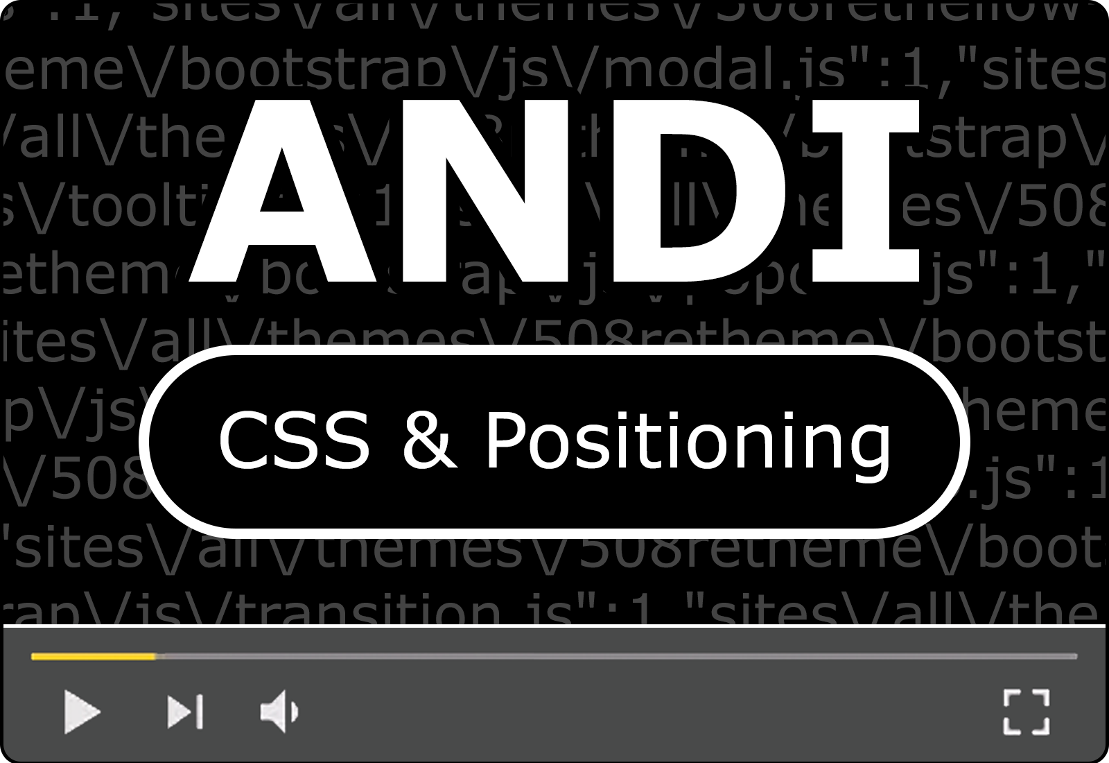 Module 17: CSS Content and Positioning