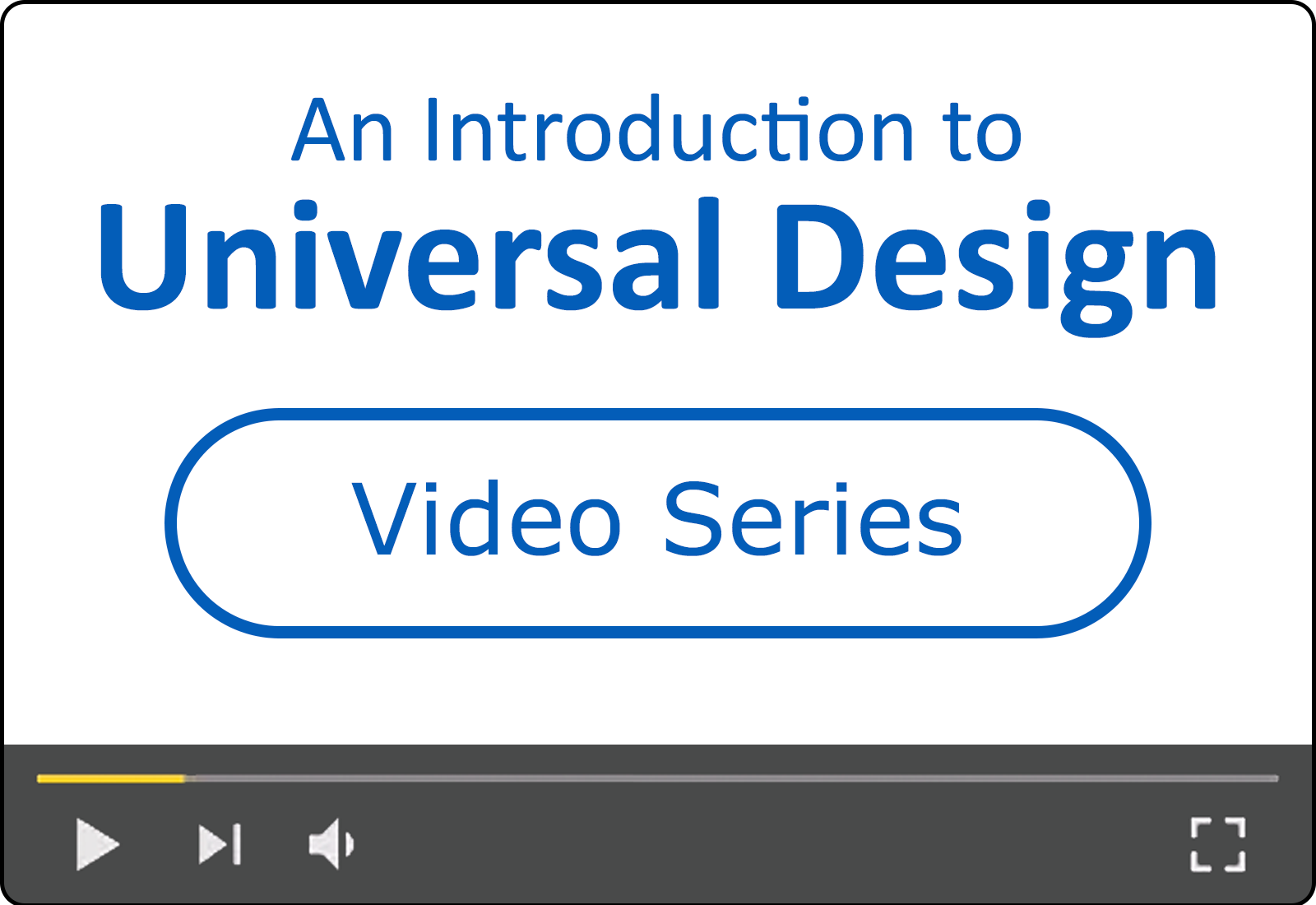 An Introduction to Universal Design for Content Creators